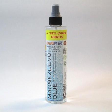OptiMag magnezijevo olje 250ml - informirano